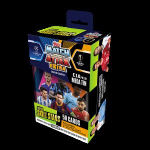 Match Attax, Match Attax Extra, match attax cards, Panini, Topps, Messi, Bruno Fernandes, Skill Stars, Sterling, Maddison, Lukaku, Kane, Lewandowski