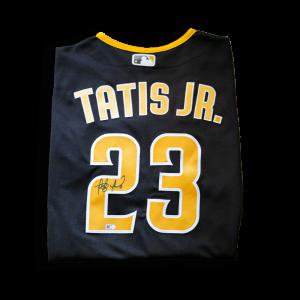 2020 Fernando Tatis Jr. Padres Nike Jersey Brown & Gold
