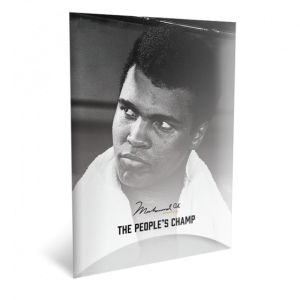 2021 Topps MUHAMMAD ALI - The People's Champ  2-Card Bundle - Cards #43-44