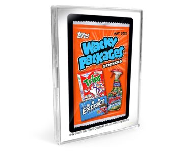 2021 Topps Wacky Packages Monthly Series: May