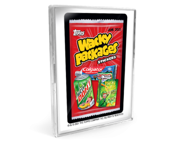 2021 Topps Wacky Packages Monthly Series: June