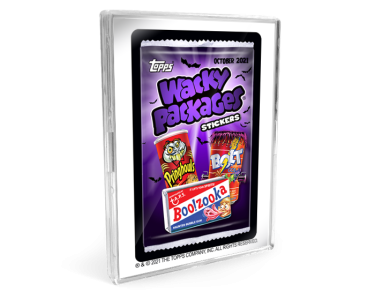 2021 Topps Wacky Packages Monthly Series: October