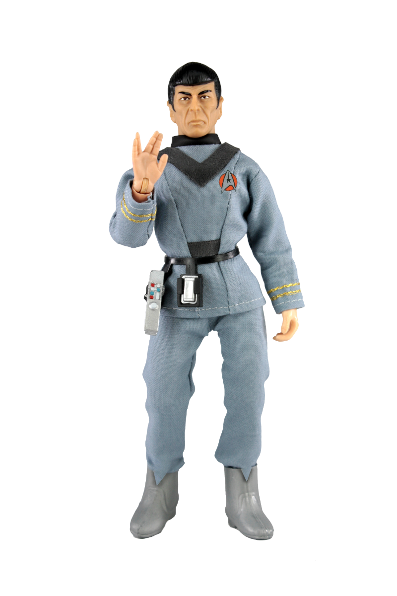 An action figure of Spock as seen in Star Trek: The Motion Picture