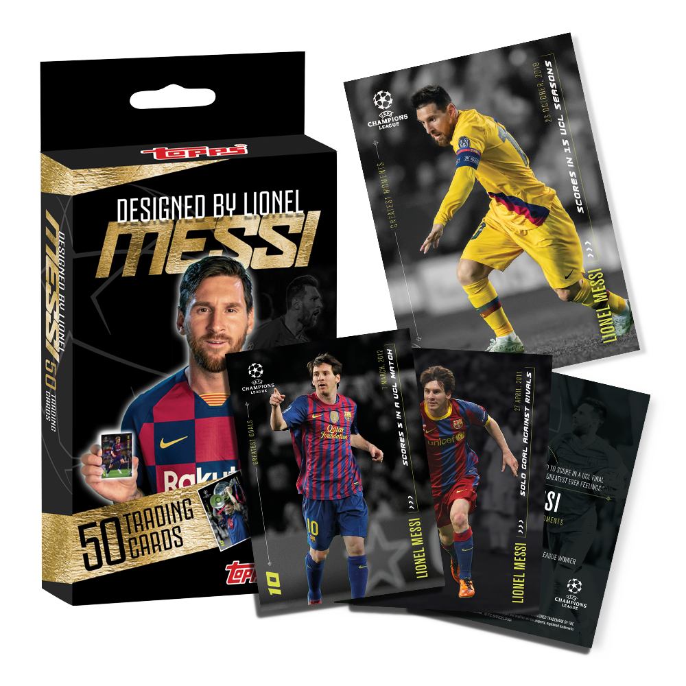 2020 Topps - Lionel Messi Trading Card Set
