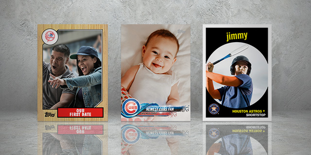 Create Your Own Custom Topps Card